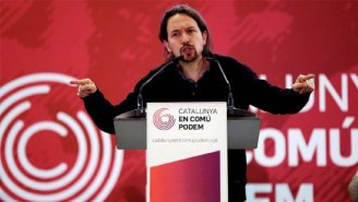 "Pablo Iglesias: os independentistas ""contribuiram com o despertar do fantasma do fascismo"""