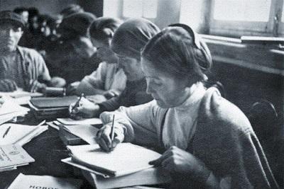 A educação na construção do socialismo na Rússia