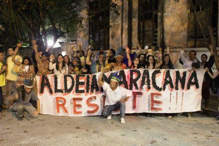 Aldeia Maracanã: ameaça de despejo aos ocupantes pelos aliados do governo Bolsonaro