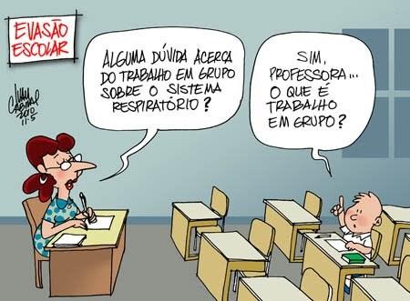 """Censo Escolar 2018: a evasão escolar continua aumentando; mas a """"culpa"""" é dos alunos e dos professores?"""