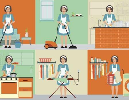 O trabalho doméstico vale 10,8 trilhões de dólares não pagos as mulheres anualmente