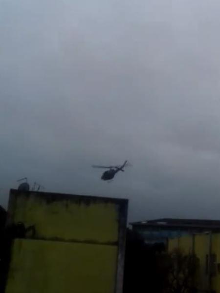 VÍDEO: Helicóptero da PM carioca lança granada contra a população de Cidade de Deus