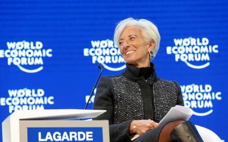 Chefe do FMI em Davos prevê crescimento abaixo da expectativa, em decorrência de incertezas políticas internacionais