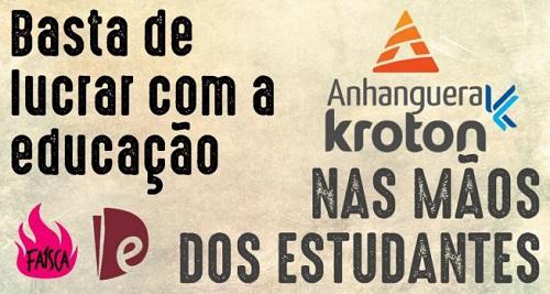 Porque os estudantes devem defender a estatização da Kroton-Anhanguera?