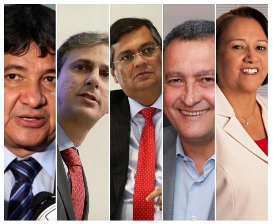 2019: ano que os governadores do Nordeste ajudaram Bolsonaro nos ataques