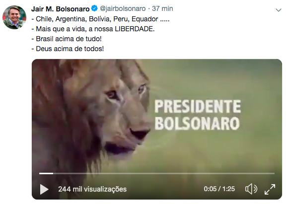 O apito silencioso de Bolsonaro