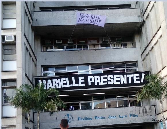 Ao chamar reunião, DCE da UERJ ignora luta por justiça por Marielle