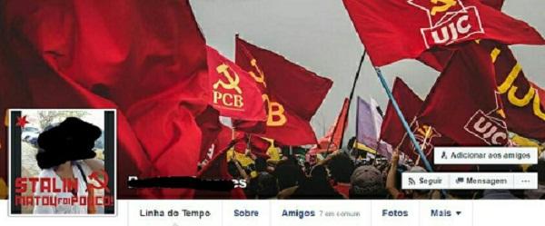 """""""Stalin matou foi pouco"""" é PicBadge de militantes do PCB no Facebook"""