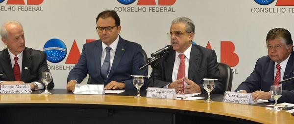 Carta das confederações patronais e OAB propõe hierarquias da agenda anti-crise