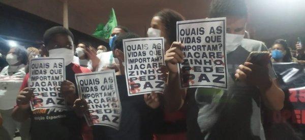 Ato contra chacina no Jacarezinho (RJ): veja transmissão ao vivo, vídeos e fotos