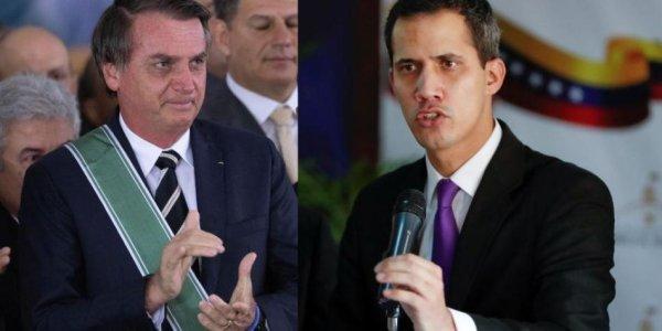 Guaidó visita Bolsonaro: golpistas se reúnem em prol da intervenção dos EUA na Venezuela