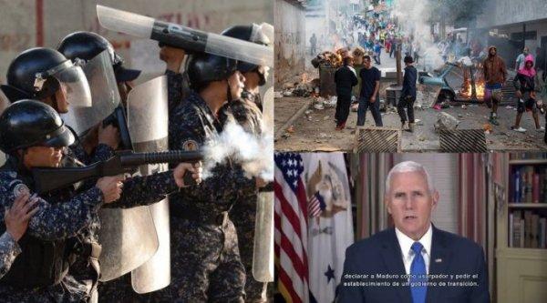 Venezuela: entre os chamados ao golpe e a repressão aos protestos