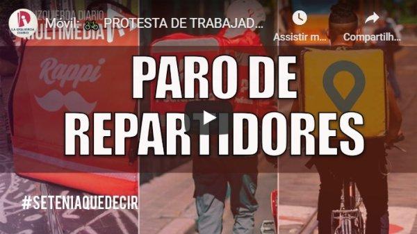 Veja paralisação e as ações dos entregadores que vivem em distintas cidades na Argentina