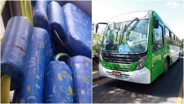RELATO: Bancos de ônibus despencam sobre usuários do transporte de Campinas