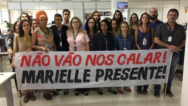 Jornalistas da EBC são orientados a abafar repercussão sobre assassinato de Marielle Franco