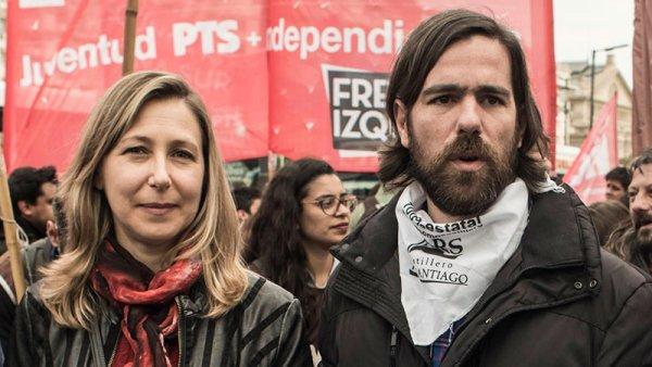 Myriam Bregman e Nico Del Caño, da esquerda argentina, se solidarizam com as manifestações no Brasil