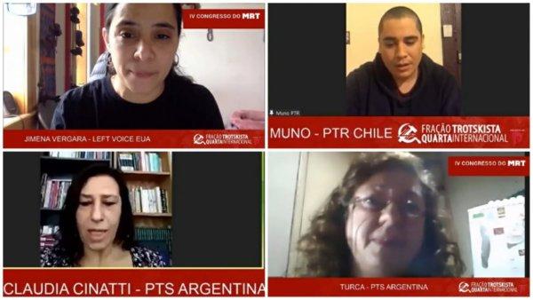 3º dia de congresso do MRT conta com saudações internacionais da Fração Trotskista