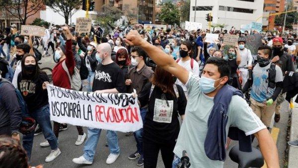 Acompanhe a jornada de greve nacional contra Duque na Colômbia
