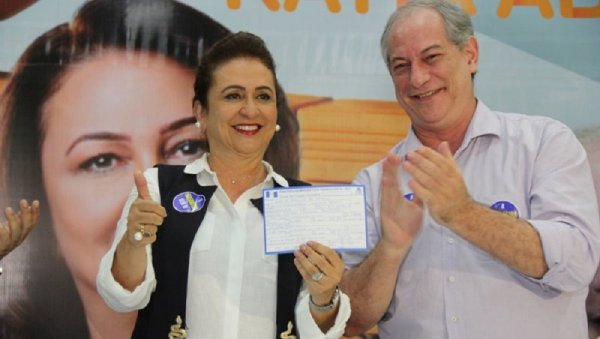 """Kátia Abreu entrega Ciro: """"é mito que ele é contra a reforma trabalhista"""""""