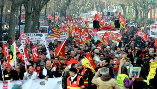 França: Nova jornada de mobilizações em toda a França contra a reforma de Macron