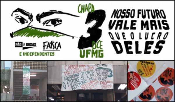 7 motivos para votar na Chapa 3 nas eleições do DCE da UFMG