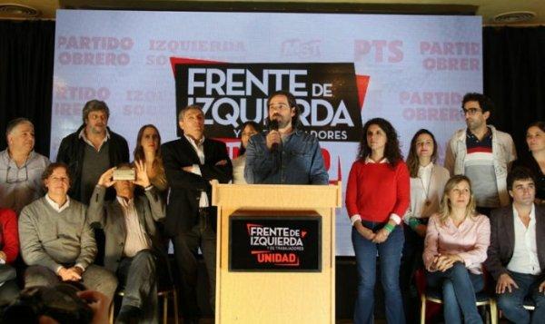Argentina: a esquerda anunciou uma lista de unidade para competir nestas eleições