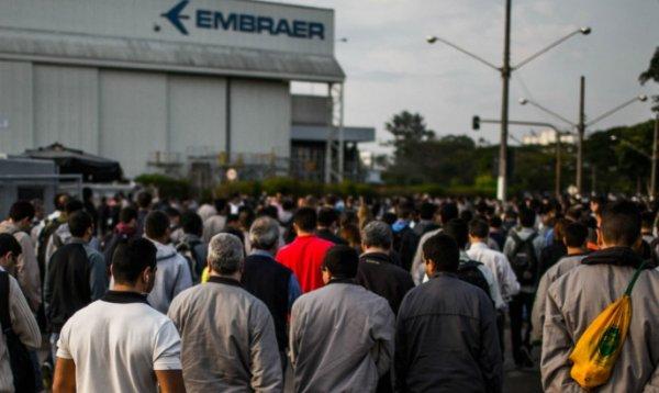 1470 trabalhadores aderem ao PDV na Embraer