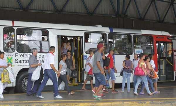 Caos no transporte público de Santo André