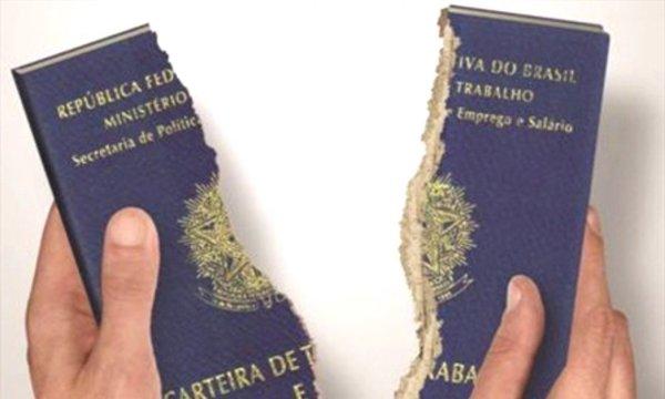 Precarização destrói 444 mil vagas com carteira assinada no período de um ano no país