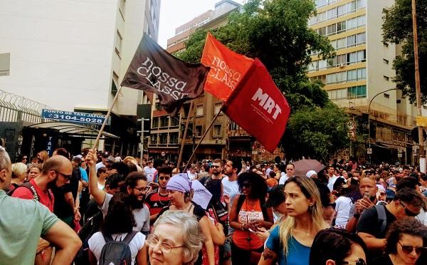 Sindicatos, CUT e CTB, comecem já forte campanha nacional em defesa do direito de greve!