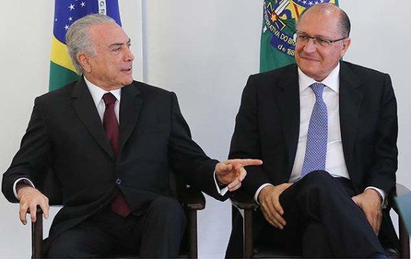 Alckmin reitera apoio integral às reformas de Temer