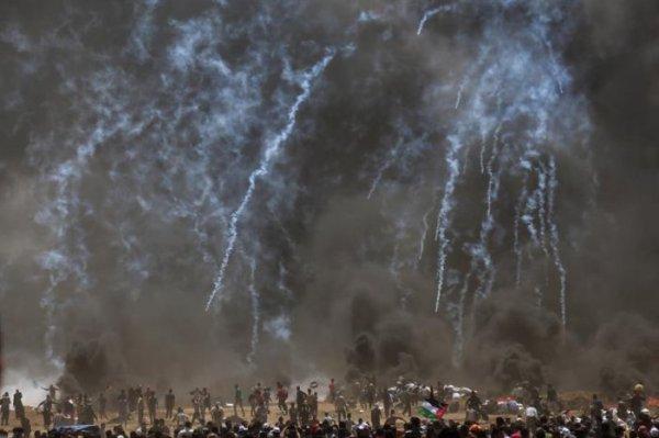 Abaixo o massacre na Palestina!