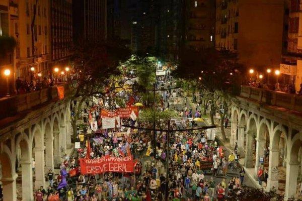 Organizar a luta contra Temer, Sartori e Marchezan. Por uma greve geral para derrubar Temer e os ataques!