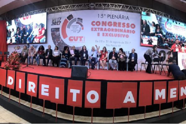 Congresso da CUT: muito barulho pra Lula em 2018 e muito silêncio sobre Greve Geral