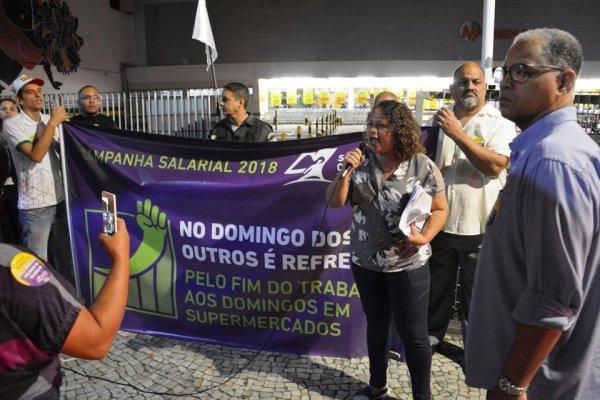 Trabalhadores do Mundial paralisam por melhoras salariais e contra implementação da reforma trabalhista