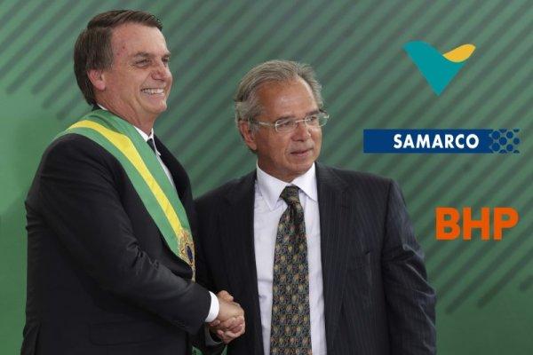 Bolsonaro amigo das mineradoras: condena a fiscalização ambiental e quer privatizar tudo