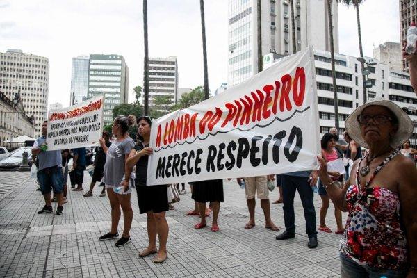 Lomba do Pinheiro protesta contra falta de água e descaso de Marchezan