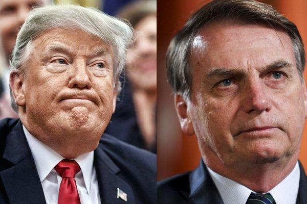Trump e Bolsonaro: tirano imperialista e seu capataz contra os povos latino-americanos