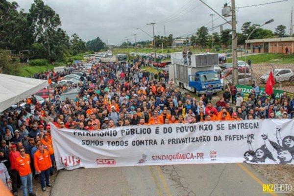 Não à privatização da Petrobras: CUT deve organizar a força dos petroleiros contra este ataque