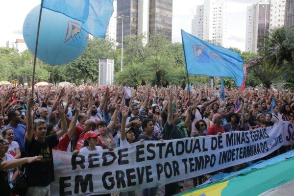 6 propostas para a greve estadual da educação em Minas Gerais