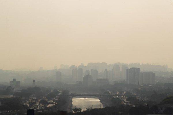 Fumaça das queimadas do Pantanal chega a São Paulo