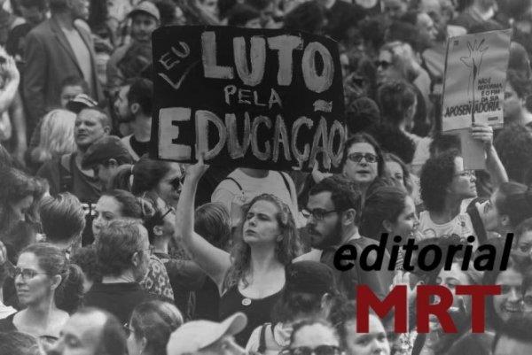 Construir um movimento estudantil combativo e revolucionário: por entidades militantes contra Bolsonaro e os ataques