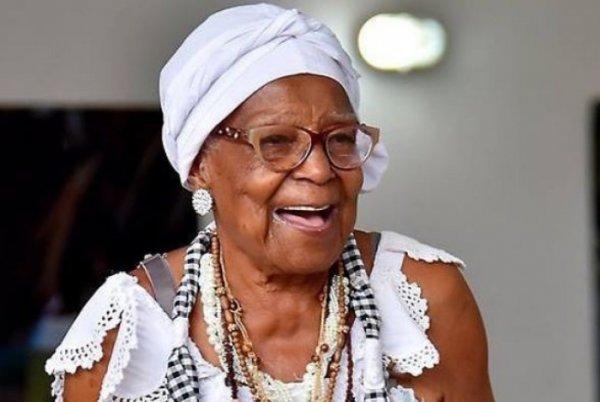 Patrimônio da cultura negra carioca Tia Maria do Jongo, faleceu aos 98 anos