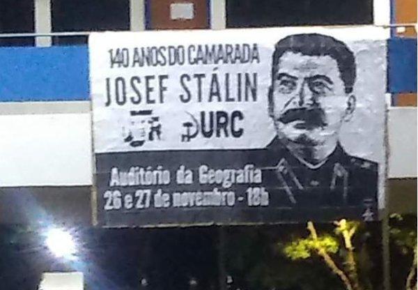 Sindicato dos trabalhadores da USP repudia homenagem a Stálin