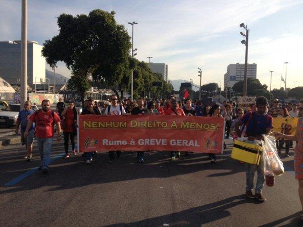 Profissionais da educação no Rio irão paralisar dia 11 contra Temer e Pezão