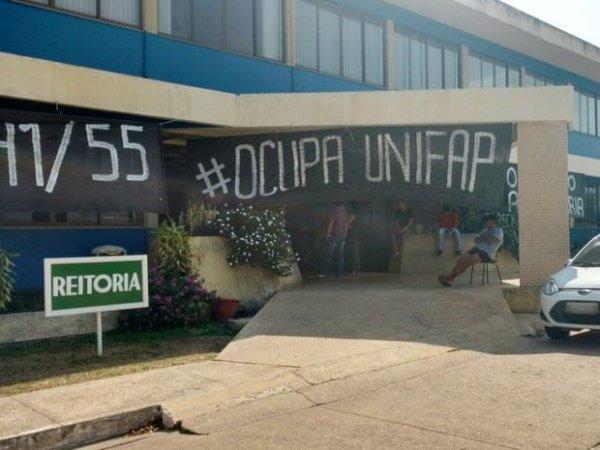 Estudantes da Federal do Amapá decidem ocupar a Universidade