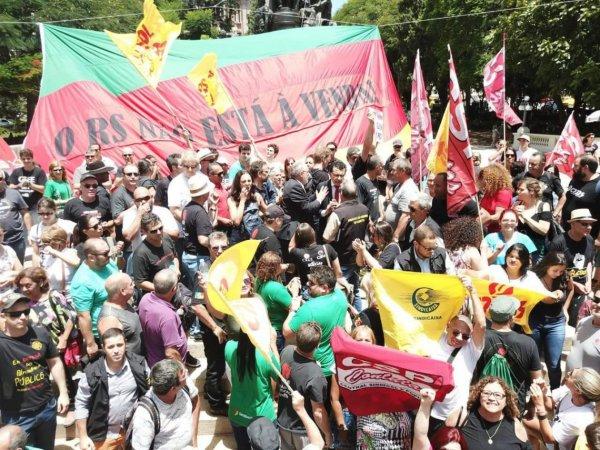 Sartori é derrotado e não consegue aprovar privatizações e ataques ao povo gaúcho