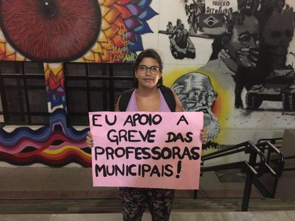 Estudantes da PUC/SP apoiam greve dos professores municipais de São Paulo