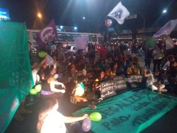 UFRN: Plenária de mulheres de Ciências Sociais Contra Bolsonaro