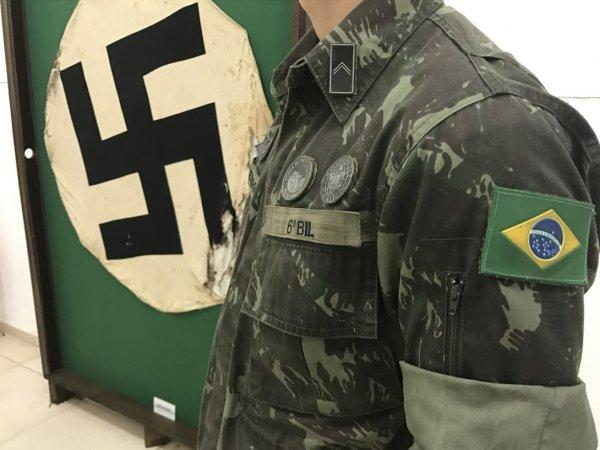 Escândalo: Exército brasileiro homenageia nazista